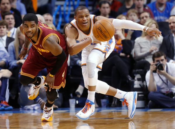 Kyrie Irving, Russell Westbrook