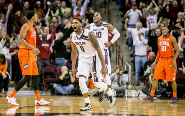 NCAA Basketball: Clemson at South Carolina