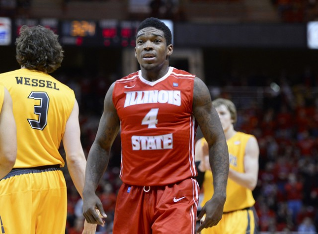 NCAA Basketball: Wichita State at Illinois State