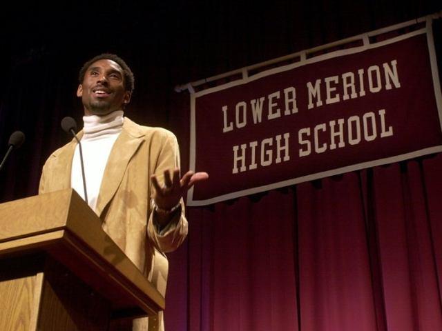 Kobe Bryant at Lower Merion HS
